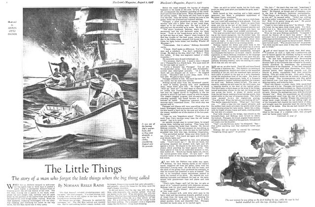 Article Preview: The Little Things, August 1927 | Maclean's