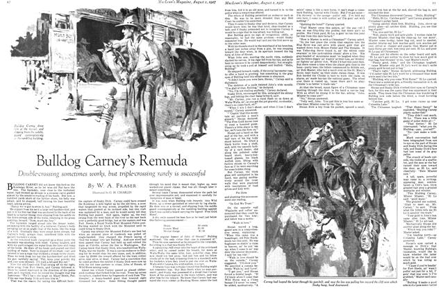 Article Preview: Bulldog Carney's Remuda, August 1927 | Maclean's
