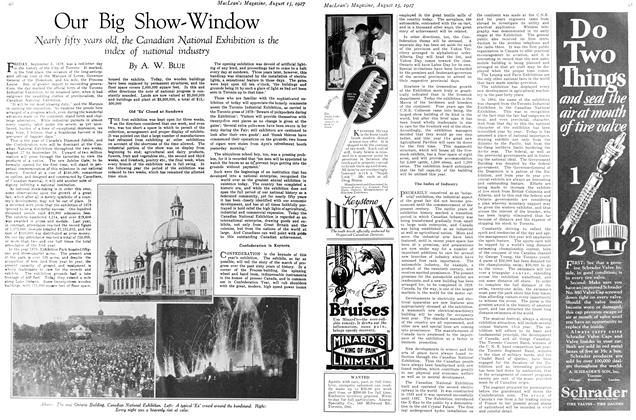 Article Preview: Our Big Show-Window, August 15th 1927 1927 | Maclean's