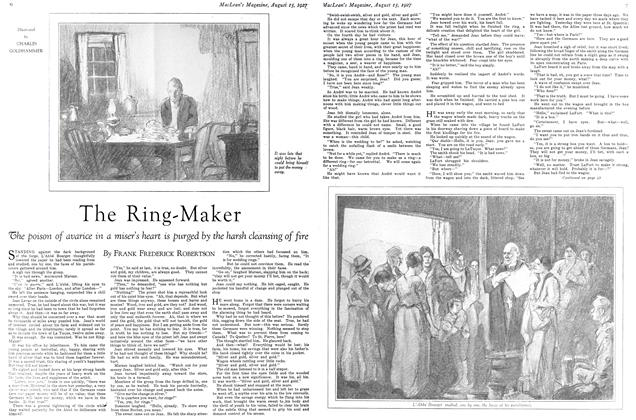 Article Preview: The Ring-Maker, August 15th 1927 1927 | Maclean's