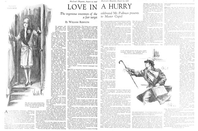 Article Preview: LOVE IN A HURRY, August 15th 1927 1927 | Maclean's