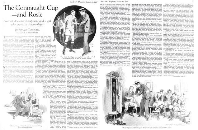 Article Preview: The Connaught Cup —and Rosie, August 15th 1927 1927 | Maclean's