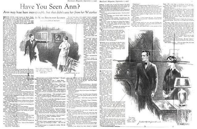 Article Preview: Have You Seen Ann?, September 1st 1927 1927 | Maclean's