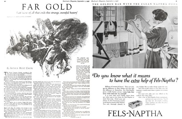 Article Preview: FAR GOLD, September 1st 1927 1927 | Maclean's