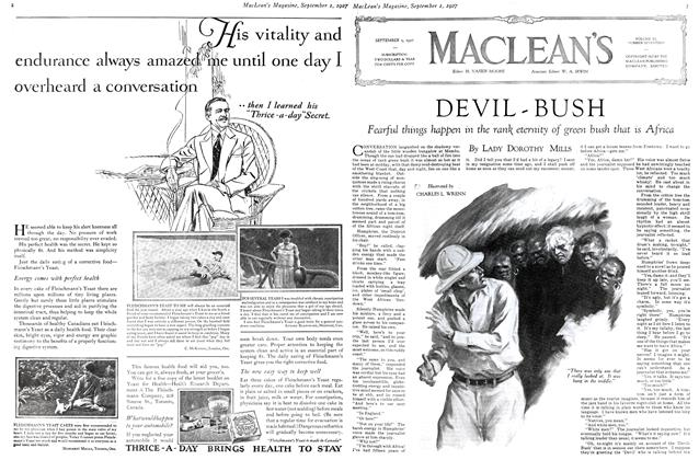 Article Preview: DEVIL - BUSH, September 1st 1927 1927 | Maclean's