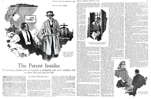 Article Preview: The Patent Insides, September 1st 1927 1927 | Maclean's