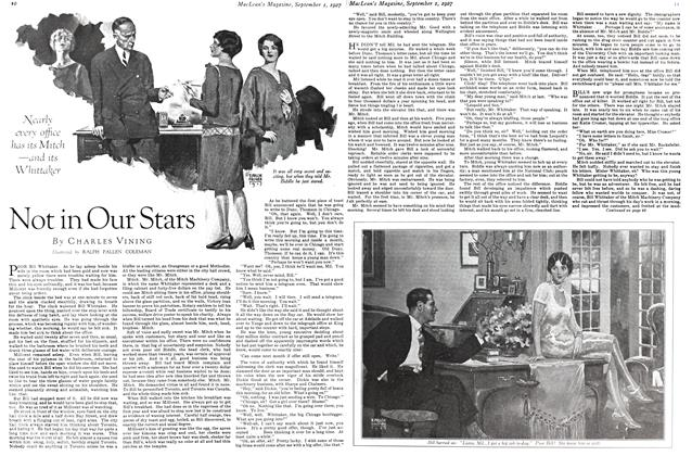 Article Preview: Not in Our Stars, September 1st 1927 1927 | Maclean's