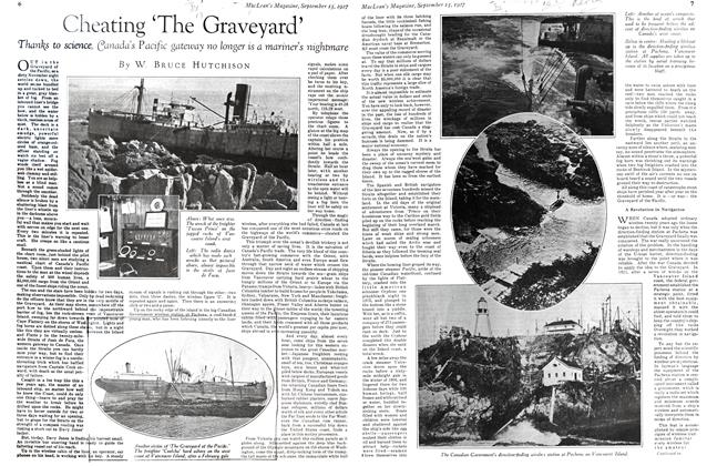 Article Preview: Cheating 'The Graveyard', September 15TH 1927 1927 | Maclean's