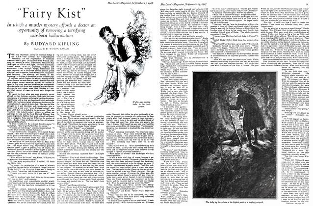 "Article Preview: ""Fairy Kist"", September 15TH 1927 1927 