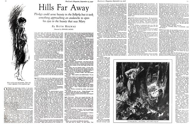 Article Preview: Hills Far Away, September 15TH 1927 1927 | Maclean's