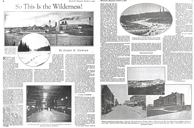 Article Preview: So This Is the Wilderness!, October 1st. 1927 1927 | Maclean's
