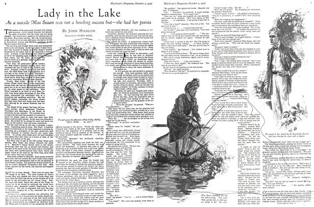 Article Preview: Lady in the Lake, October 1st. 1927 1927 | Maclean's