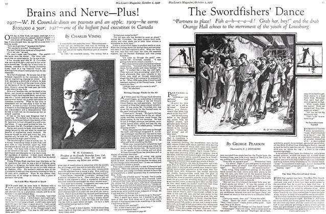 Article Preview: The Swordfishers' Dance, October 1st. 1927 1927 | Maclean's