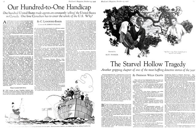 Article Preview: The Starvel Hollow Tragedy, October 15th 1927 1927 | Maclean's