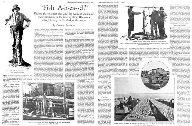 "Article Preview: ""Fish A-h-ea--d!"", October 15th 1927 1927 