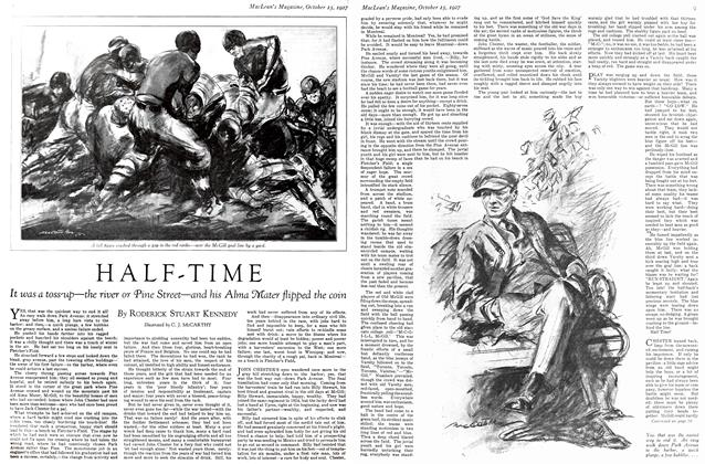 Article Preview: HALF-TIME, October 15th 1927 1927 | Maclean's
