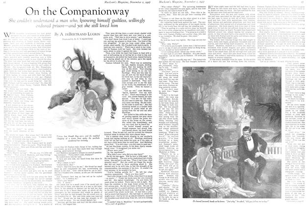 Article Preview: On the Companionway, November 1st 1927 1927 | Maclean's