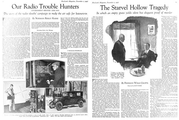 Article Preview: Our Radio Trouble Hunters, November 1st 1927 1927 | Maclean's