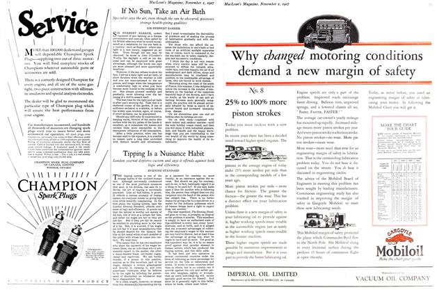 Article Preview: Tipping Is a Nuisance Habit, November 1st 1927 1927 | Maclean's