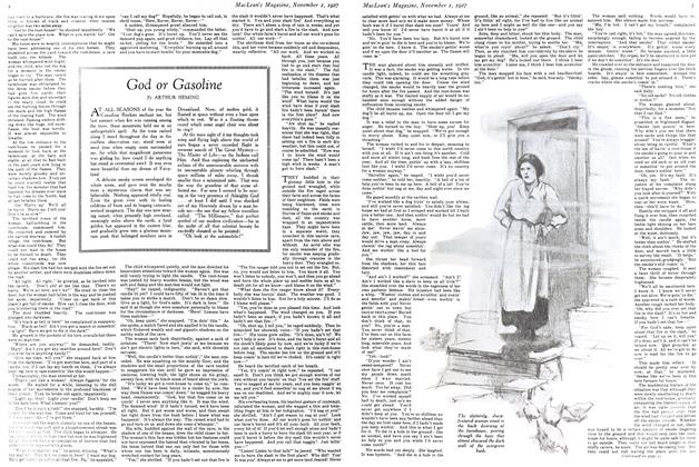 Article Preview: God or Gasoline, November 1st 1927 1927 | Maclean's
