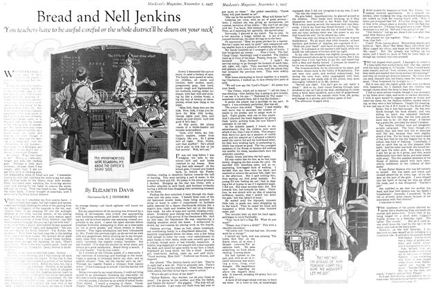 Article Preview: Bread and Nell Jenkins, November 1st 1927 1927 | Maclean's