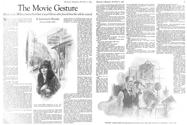 Article Preview: The Movie Gesture, November 1st 1927 1927 | Maclean's