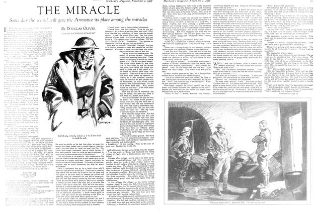 Article Preview: THE MIRACLE, November 1st 1927 1927 | Maclean's