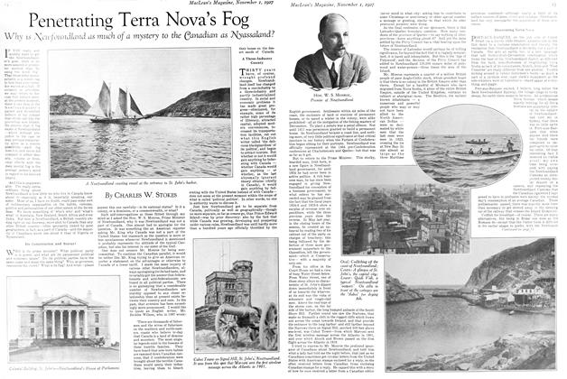 Article Preview: Penetrating Terra Nova's Fog, November 1st 1927 1927 | Maclean's