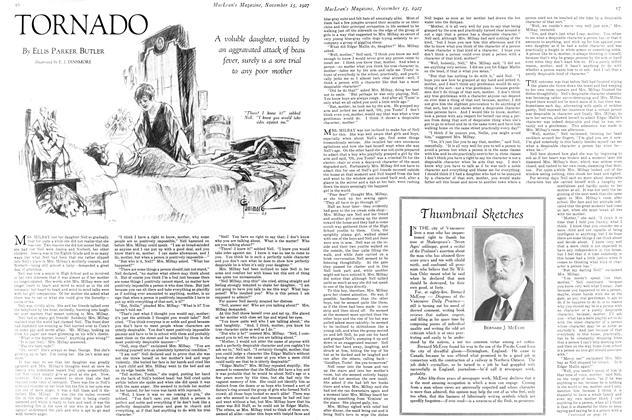 Article Preview: TORNADO, November 15TH 1927 1927 | Maclean's