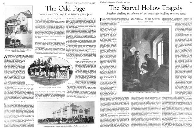 Article Preview: The Starvel Hollow Tragedy, November 15TH 1927 1927 | Maclean's