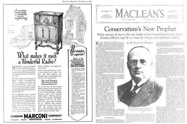 Article Preview: Conservatism's New Prophet, November 15TH 1927 1927 | Maclean's