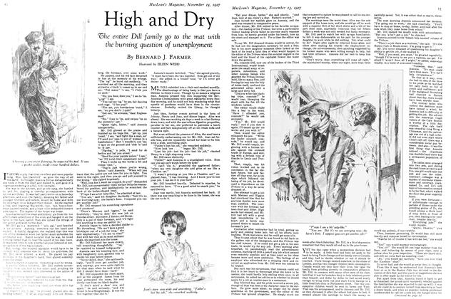 Article Preview: High and Dry, November 15TH 1927 1927 | Maclean's