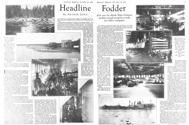 Article Preview: Headline Fodder, November 15TH 1927 1927 | Maclean's