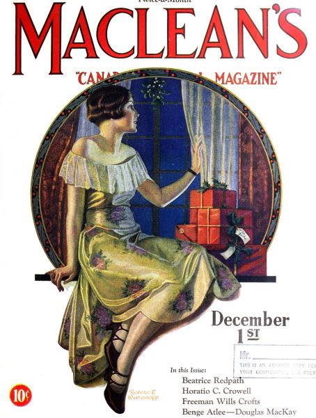 Issue: - December 1ST 1927 | Maclean's