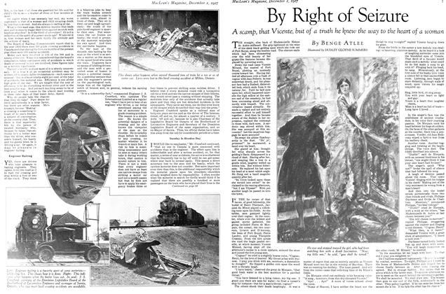 Article Preview: By Right of Seizure, December 1ST 1927 1927 | Maclean's