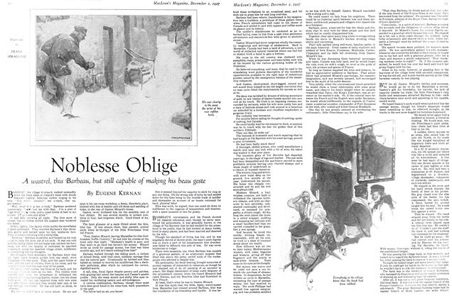 Article Preview: Noblesse Oblige, December 1ST 1927 1927 | Maclean's