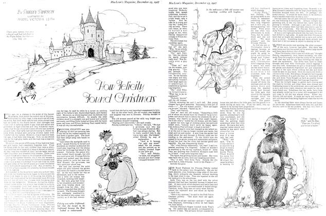 Article Preview: How Felicity Found Christmas, December 15th 1927 1927 | Maclean's