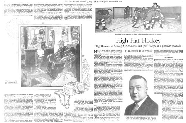 Article Preview: High Hat Hockey, December 15th 1927 1927 | Maclean's