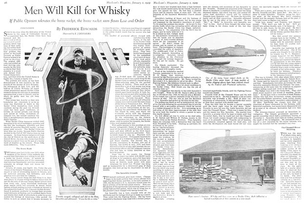 Article Preview: Men Will Kill for Whisky, January 1929 | Maclean's