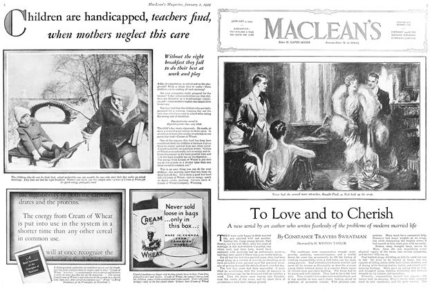 Article Preview: To Love and to Cherish, January 1929 | Maclean's