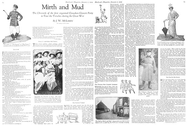Article Preview: Mirth and Mud, January 1929 | Maclean's