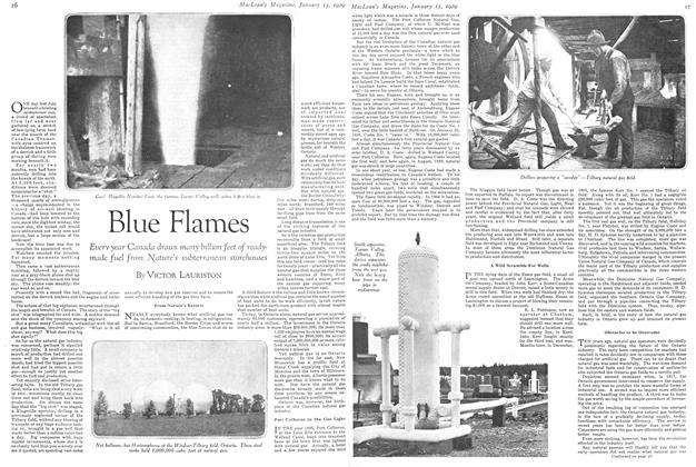 Article Preview: Blue Flames, January 1929 | Maclean's