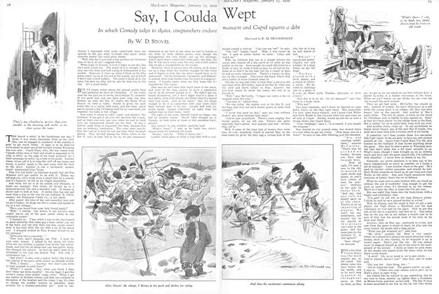 Article Preview: Say, I Coulda Wept, January 1929 | Maclean's