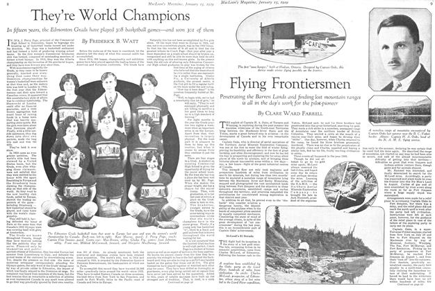 Article Preview: They're World Champions, January 1929 | Maclean's