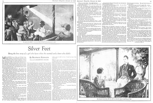 Article Preview: Silver Feet, January 1929 | Maclean's