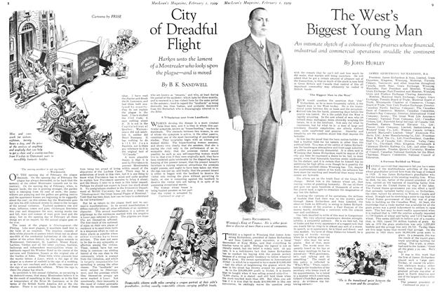 Article Preview: The West's Biggest Young Man, February 1929 | Maclean's