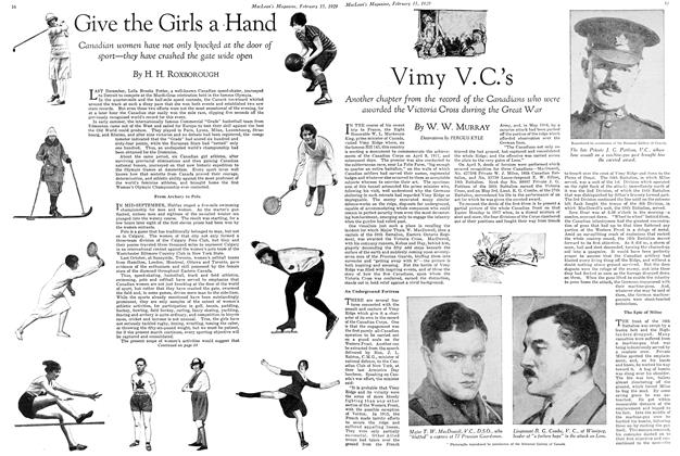 Article Preview: Give the Girls a Hand, February 1929 | Maclean's