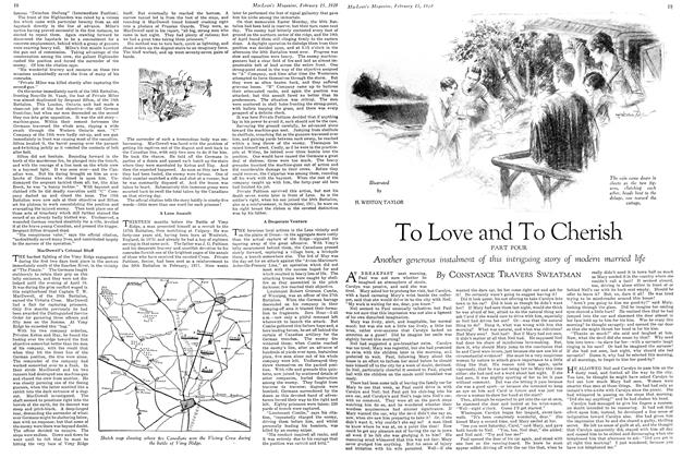Article Preview: To Love and To Cherish, February 1929 | Maclean's