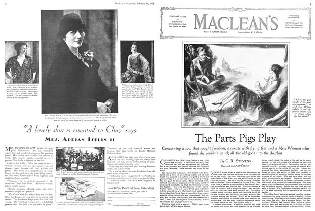 Article Preview: The Parts Pigs Play, February 1929 | Maclean's
