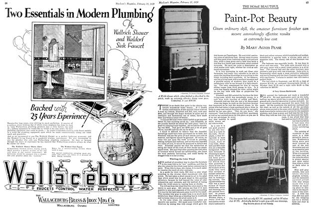 Article Preview: Paint-Pot Beauty, February 1929 | Maclean's